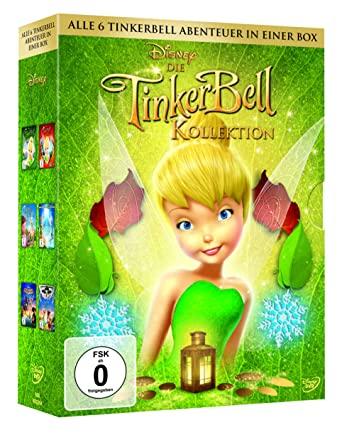 Die Tinkerbell Kollektion (6 DVD) (Amazon Prime)
