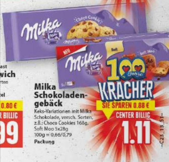 [Edeka Minden-Hannover] 5x Milka Schokoladen Gebäck mit Coupon für 4,55€