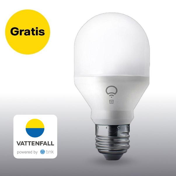 [Vattenfall Kunden] LIFX Mini White WLAN Glühbirne (E27) kostenlos im Vattenfall-Shop