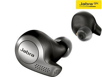 JABRA Elite 65t, In-ear, True-Wireless-Kopfhörer, Silber
