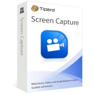 Tipard Screen Capture - gratis 1-Jahresversion zum kostenlosen Download