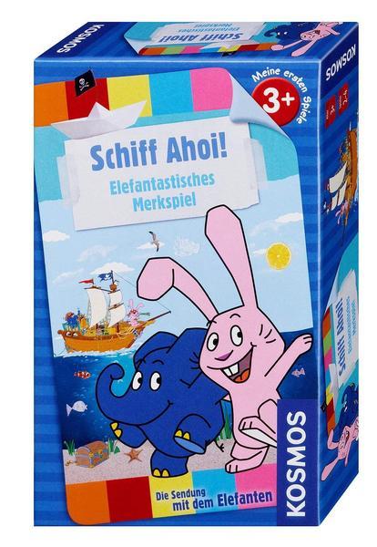 ( Thalia Filiallieferung bzw. kostenloser Versand mit Classic ) Schiff Ahoi! - Elefantisches Merkspiel, Kinderspiel, Würfelspiel von Kosmos