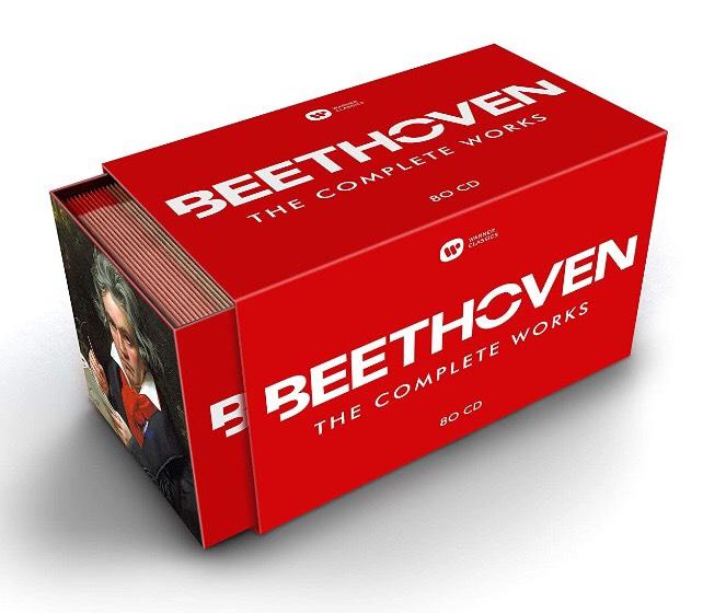 Beethoven Gesamtwerk Warner 80CDs