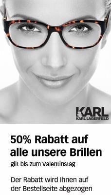 Lensway 50% Aktion: Brillen von Nike, Quicksilver, Replay für 27,50 EUR Calvin Klein, Cavalli für 33 EUR + 10% qipu