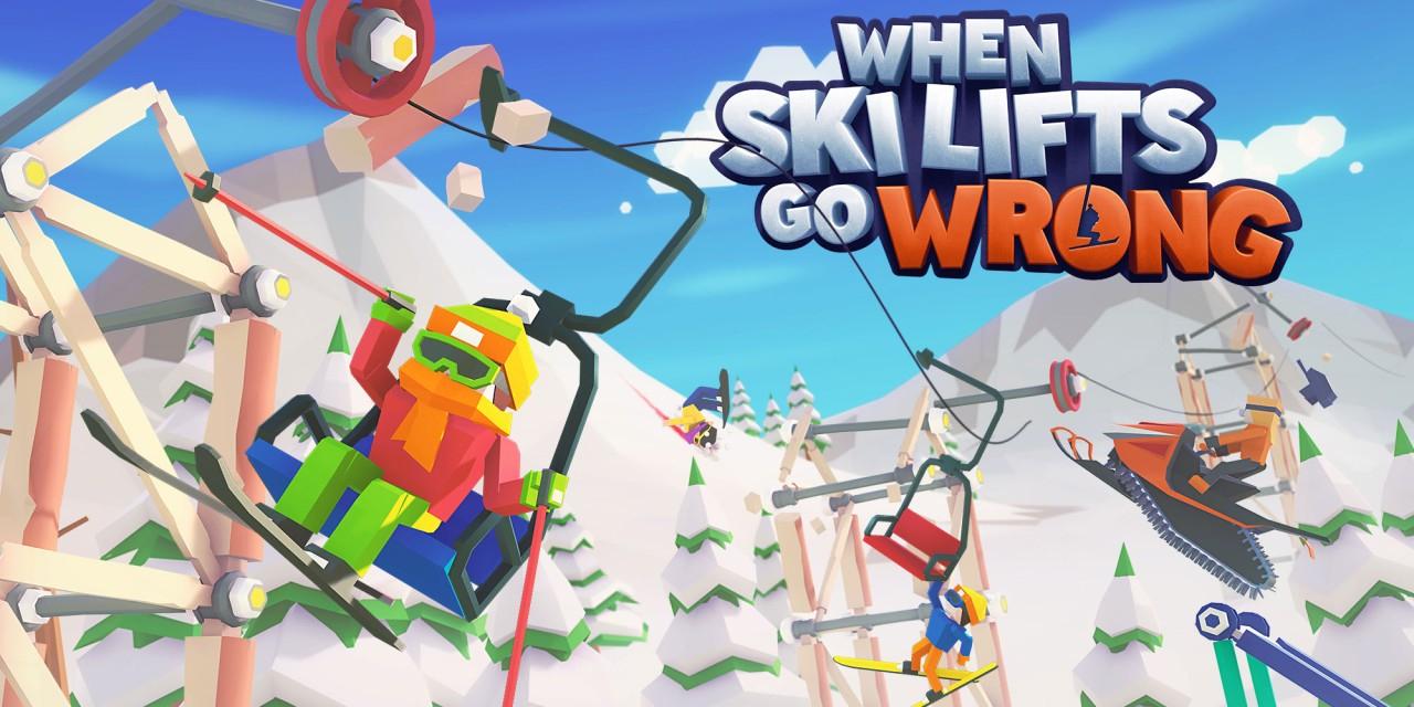 When Ski Lifts Go Wrong 1,49 € - Nintendo