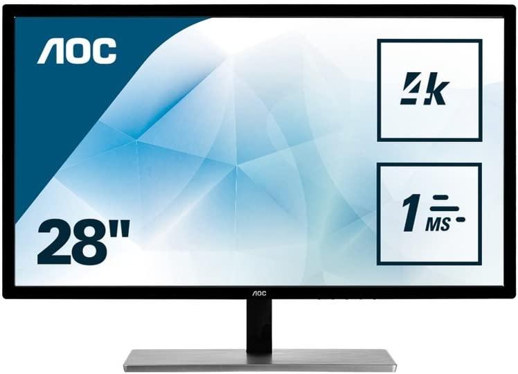 """AOC U2879VF 4K Monitor 28"""" für 208,21€ (statt 241€)"""