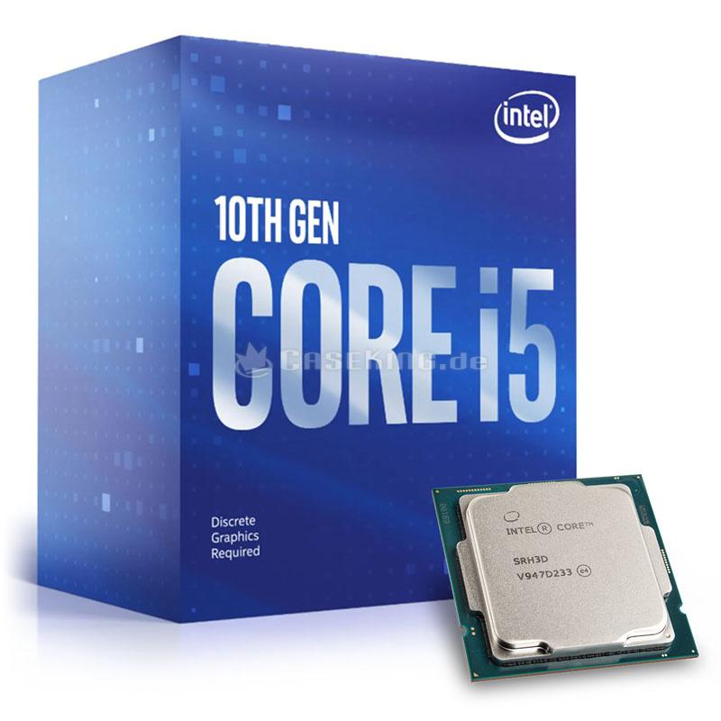 Intel i5 10th Gen. 10400f 2,9GHZ 6Kerne 12Threads Tray (ohne Box)