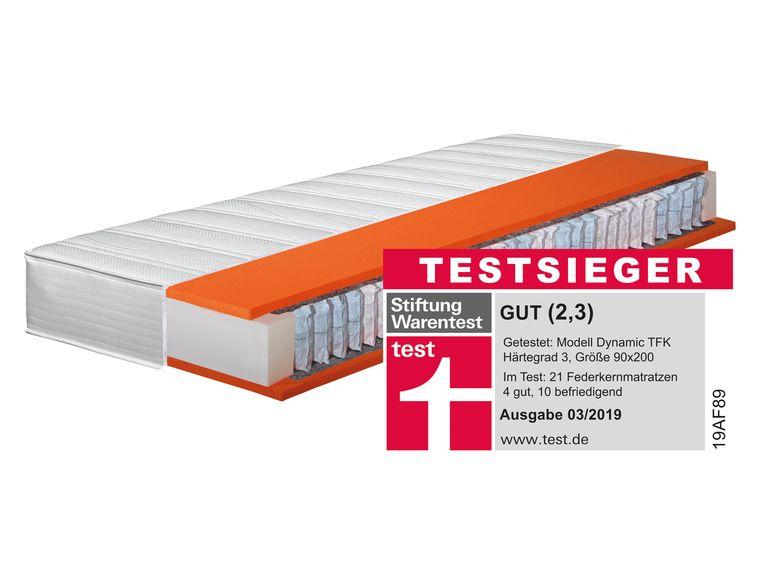Testsieger Matratze 90 x 190 oder 80 / 90 x 200 von H8N für nur 149,00.- bei Lidl