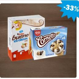 [HIT] 3 Packungen Langnese Family Eis, Cornetto, Kinder Ice Cream Multipack