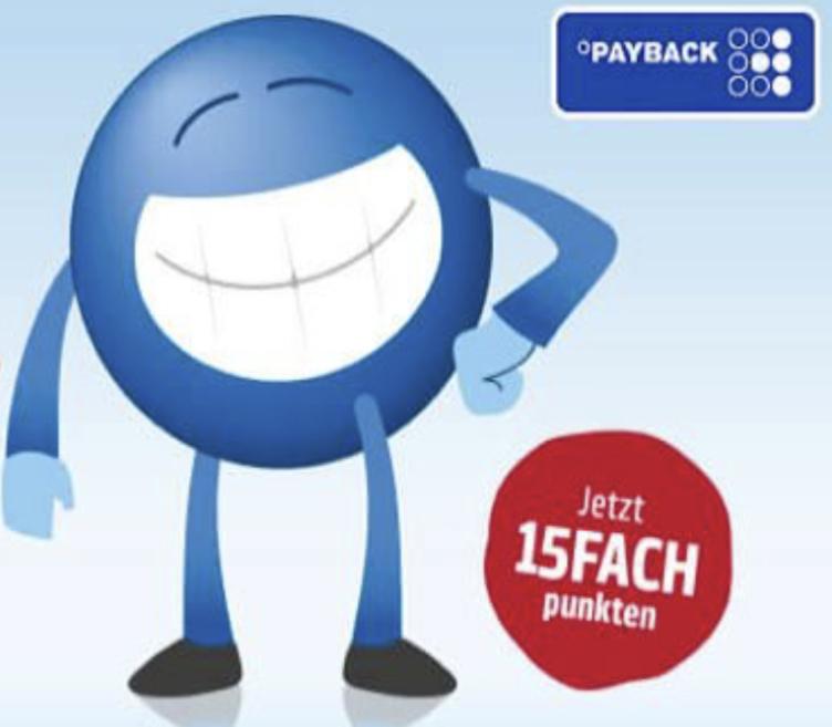 15-fach Payback Punkte bei Galaxus und bei OTTO - entspricht ca. 7,5% Ersparnis