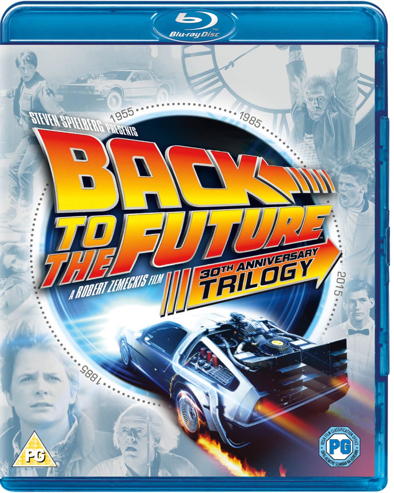 Zurück in die Zukunft Trilogie - 30th Anniversary Edition (Blu-ray) für 10,10€