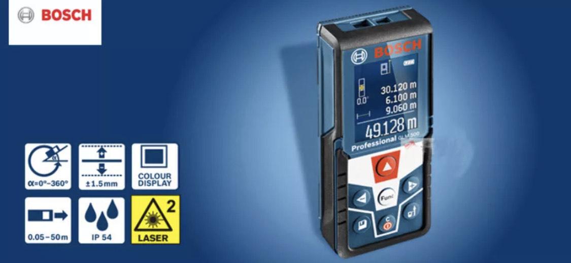 Bosch Professional Laserentfernungsmesser GLM 500