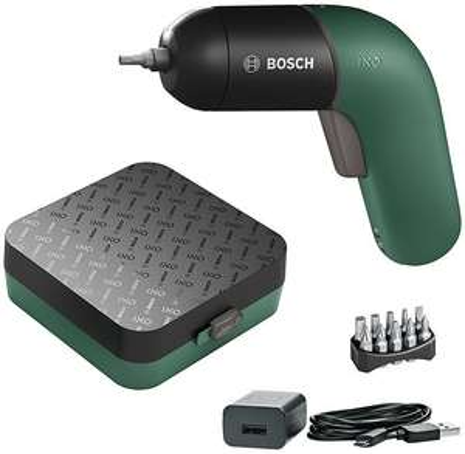 Bosch IXO VI 6. Generation Classic Edition mit Ladegerät und 10-teiligem Bitsatz für 37,82€ inkl. Versandkosten mit SofortÜberweisung