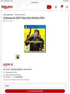 Cyberpunk 2077 Ps4 Day One Edition