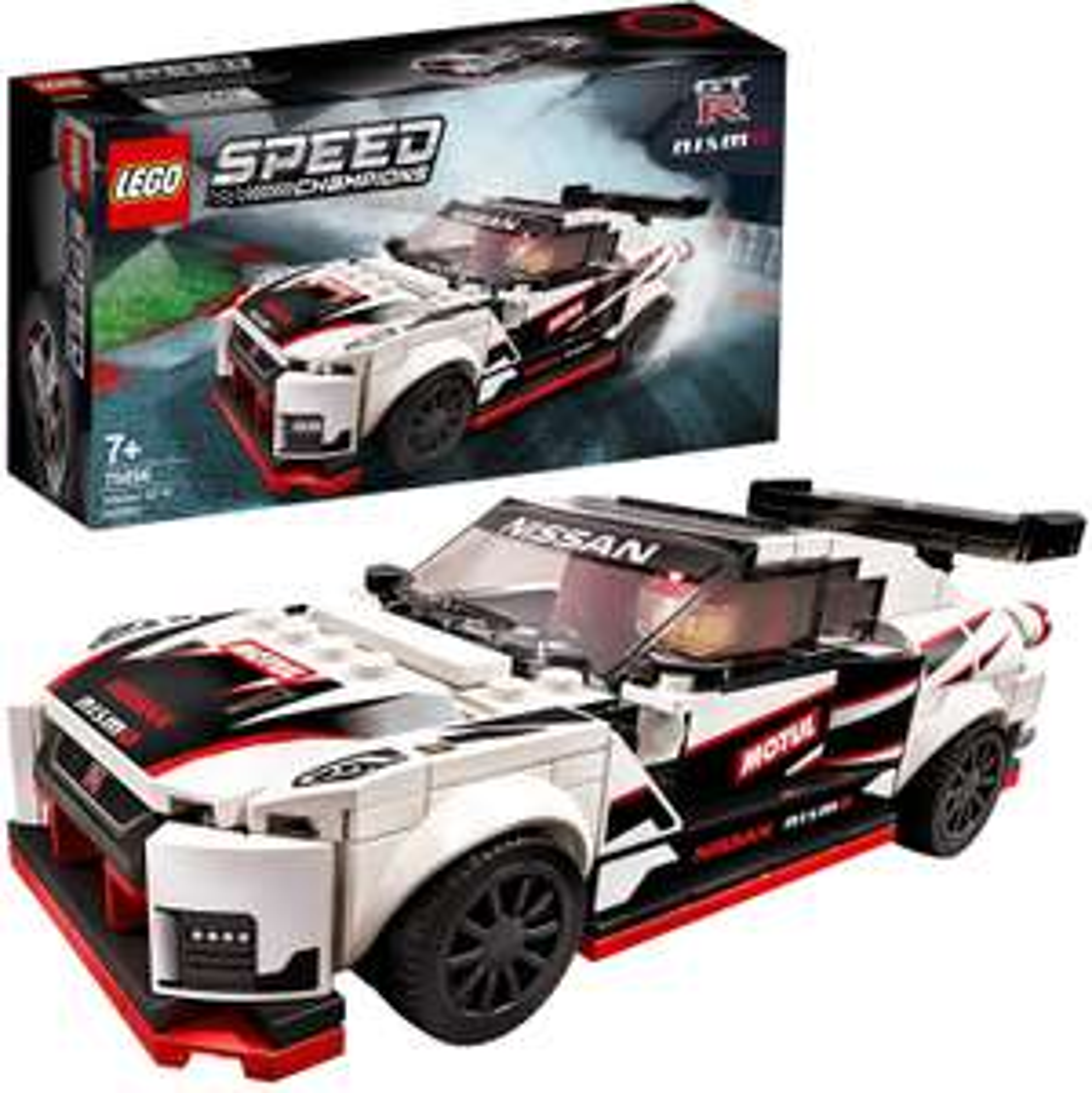 (Amazon Prime) LEGO 76896 Speed Champions Nissan GT-R NISMO