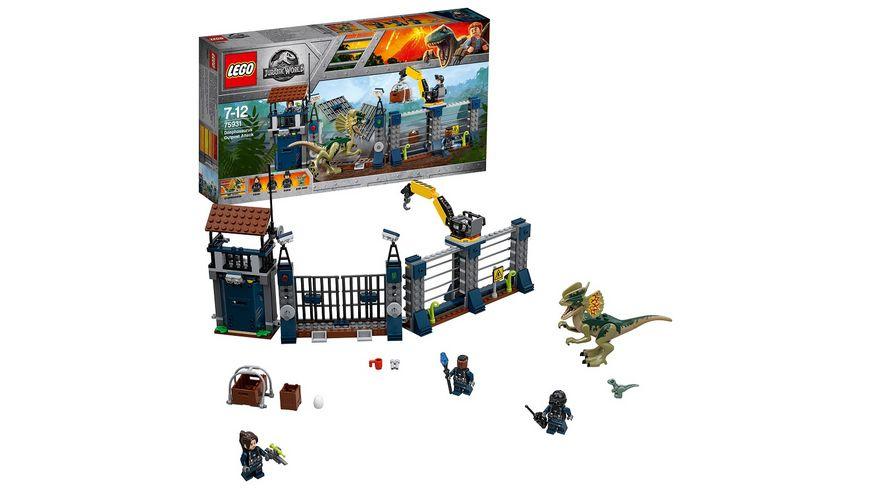 [Müller: nur Filiallieferung] LEGO Jurassic World – 75931 Angriff des Dilophosaurus