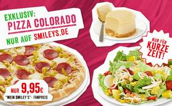 [Smiley's] Pizza Colorado 32cm (Sucuk, Mozarella, Pepperoni)