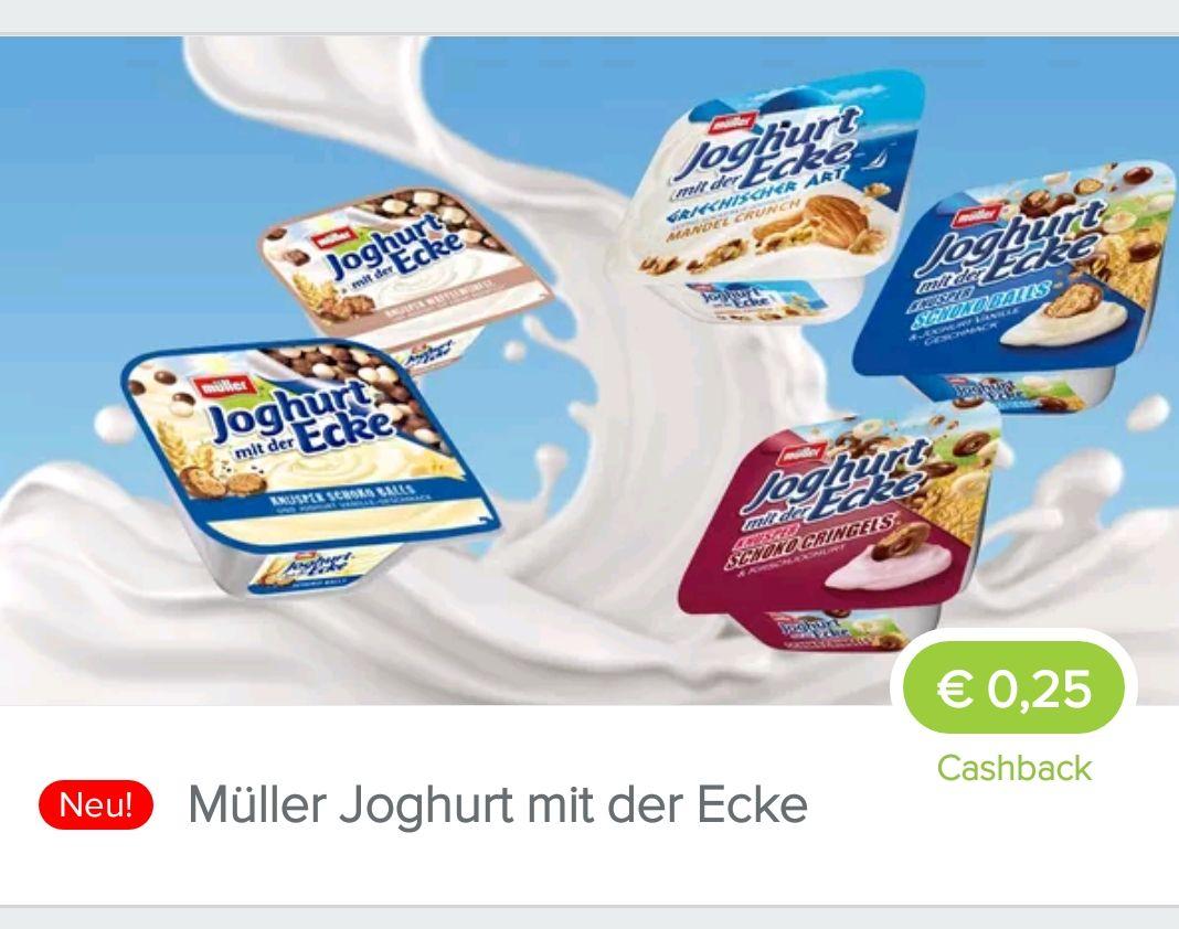 [Marktguru] MüllerJoghurt mit der Ecke / Freebie möglich