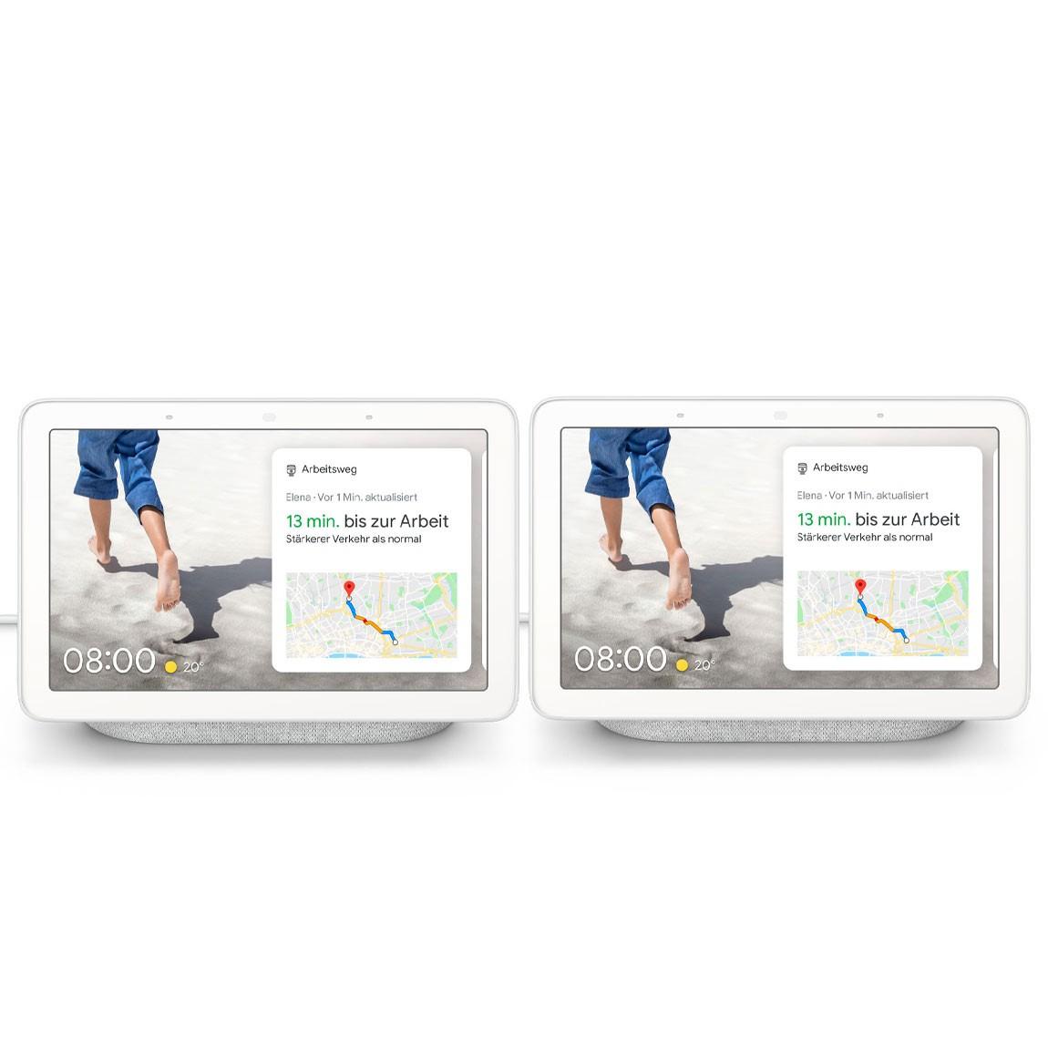 Google Nest Deals bei tink: z.B. 2x Google Nest Hub - 119€ | Nest Hub + Nest Mini - 89€ | Google Home + Philips Hue Smart Plug - 69€
