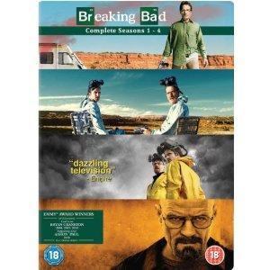(UK) Breaking Bad - Season 1-4 Complete [15 x DVD] für umgerechnet ca. 45.31€ @ Amazon.UK