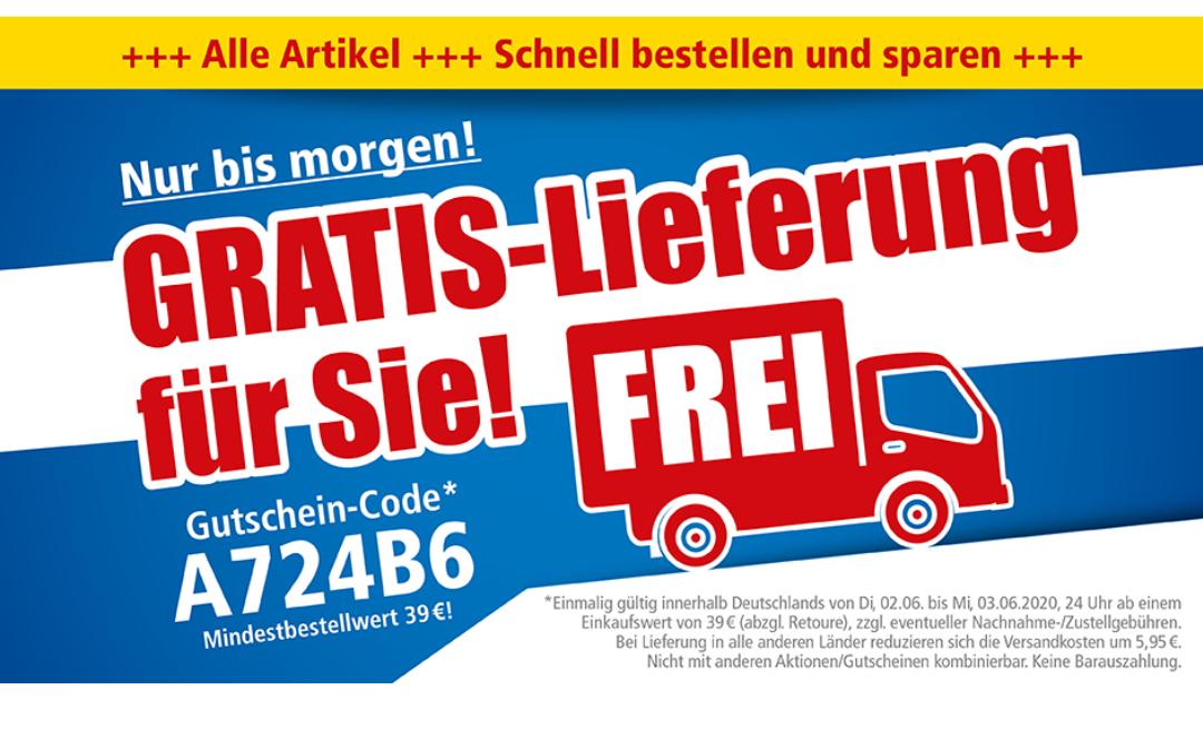 Pollin Electronic - gratis Lieferung ab 39€ bis 3.6. 24 Uhr