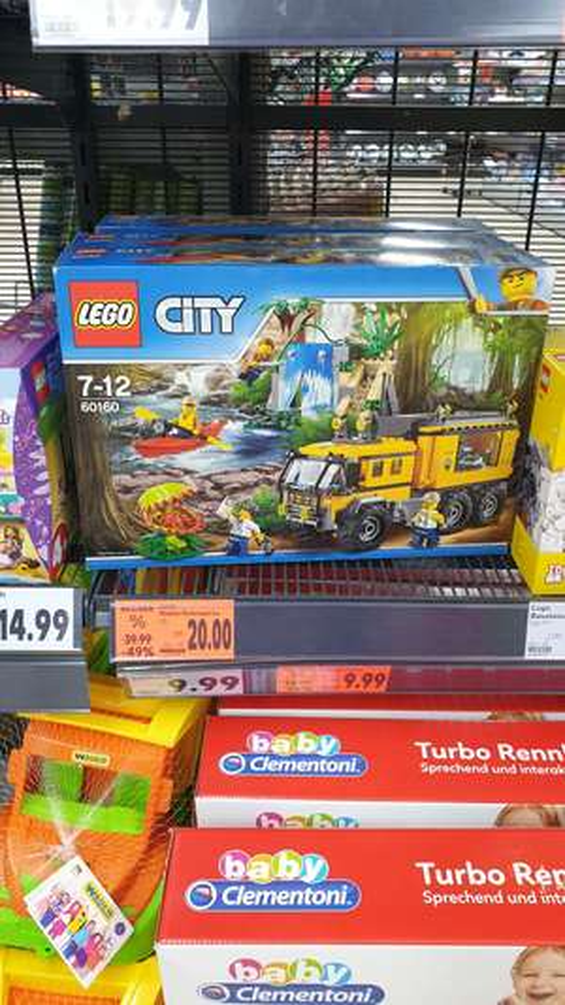 Lego City 60160 Lokal Kaufland Lüneburg