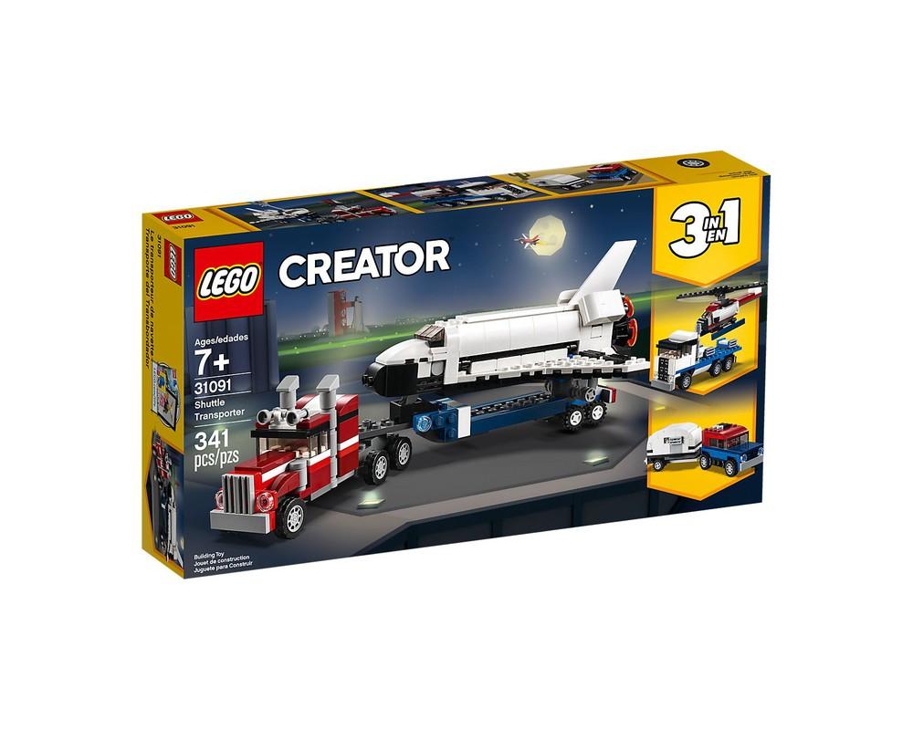 [Amazon prime] LEGO Creator 31091 - Transporter für Space Shuttle