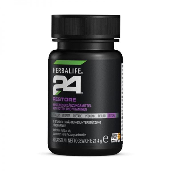 Der Fitness und Wellness Wegbereiter aus den USA Herbalife H24 Restore 30 Kapseln mit 33% Rabatt