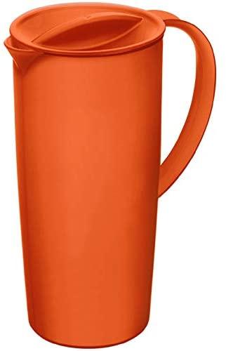 Rotho Caruba Krug mit Deckel 1.2 l, Kunststoff, BPA-frei (Rot, Blau & Lime) für je 4,29€ (Müller Abholung)