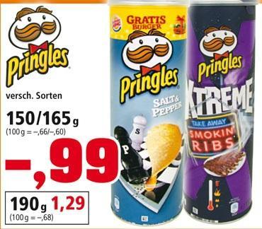 Pringles 150/165g @ Thomas Philipps