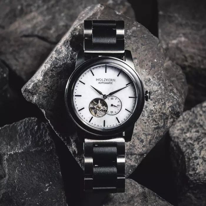 Rabatt Quiz bei Holzkern mit bis zu 25€ ab 150€ Bestellwert (Uhren, Armbänder und Schmuck mit Echtholz)
