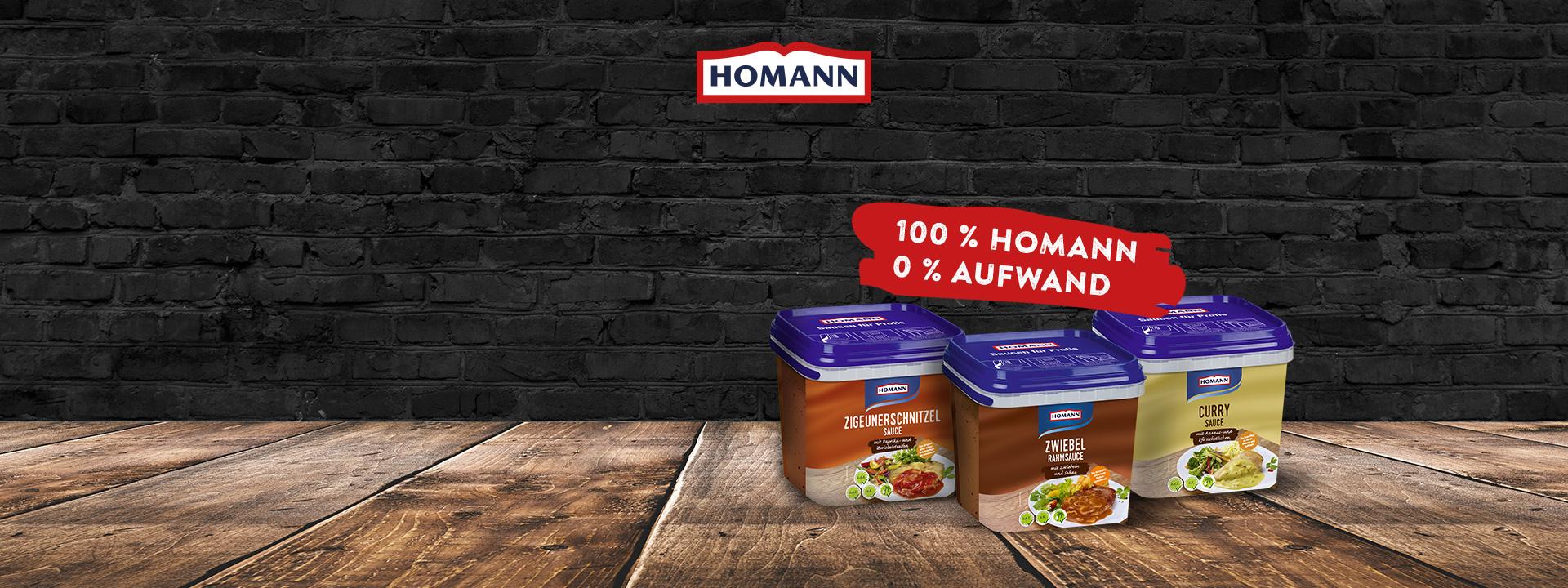 [Gewerbe?] Homann Saucen Probierpaket
