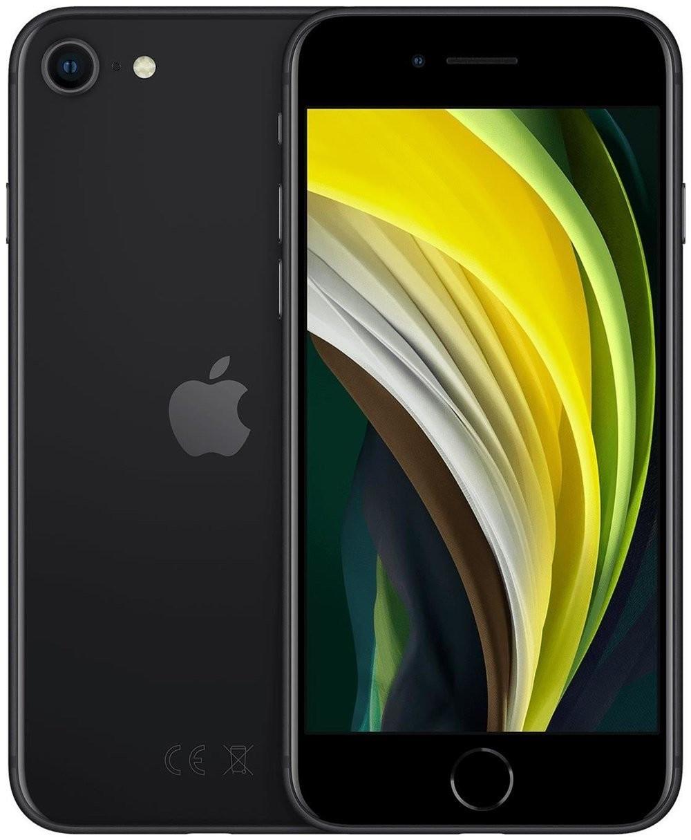 iPhone SE 2020, 64GB, black, neu