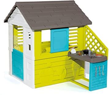 SMOBY Spielhaus mit Sommerküche Pretty Haus