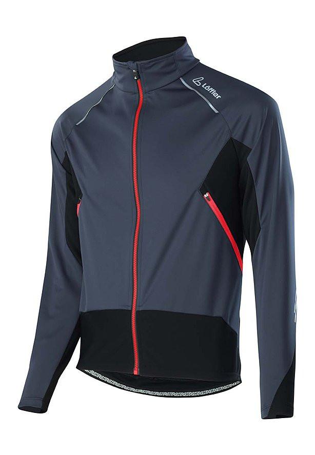 Löffler Bike Jacket Ventsiro Light, Windstopper Fahrradjacke für Herren (Größen XS-L)