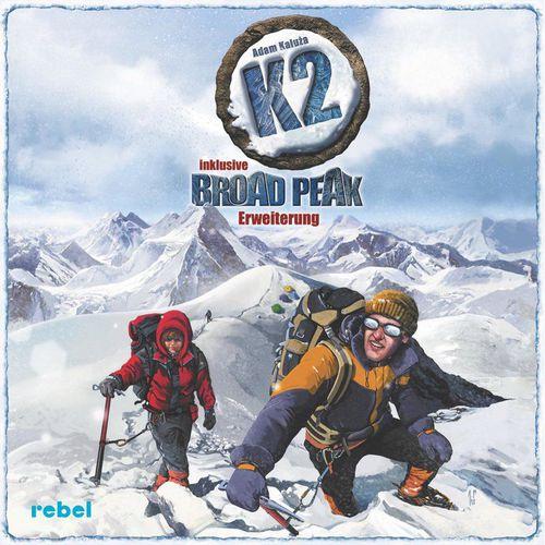 K2 inkl. Broad Peak Erweiterung (Brettspiel, Gesellschaftsspiel)