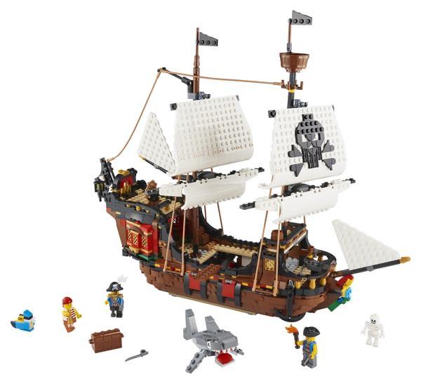 LEGO® Creator 31109 Piratenschiff Update: Wieder bestellbar!