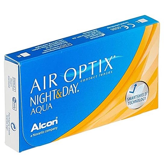 Alcon Air Optix Night & Day Aqua Monatslinsen weich 3 Stück