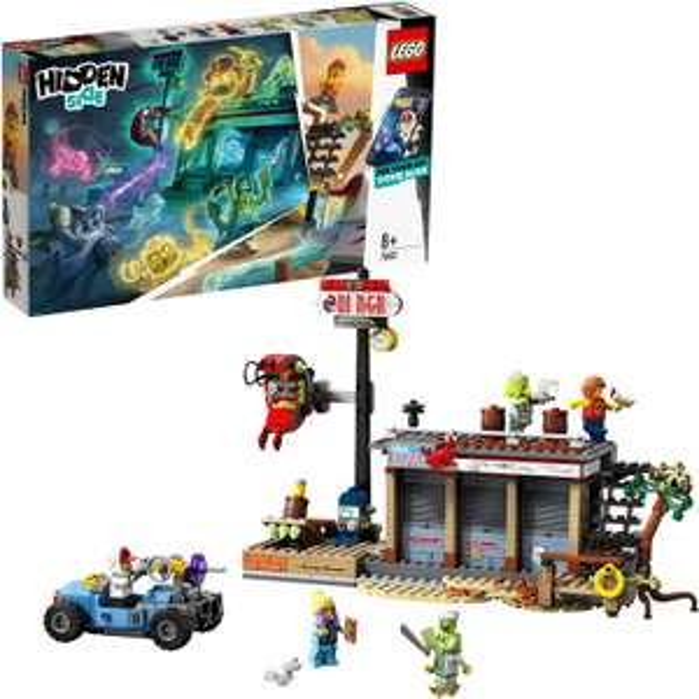 LEGO Hidden Side - Angriff auf die Garnelenhütte (70422) für 29€ (Müller Abholung)