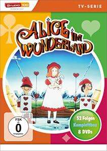 Alice im Wunderland - Komplettbox (8 DVD's) für 22,97€ (Amazon Prime)