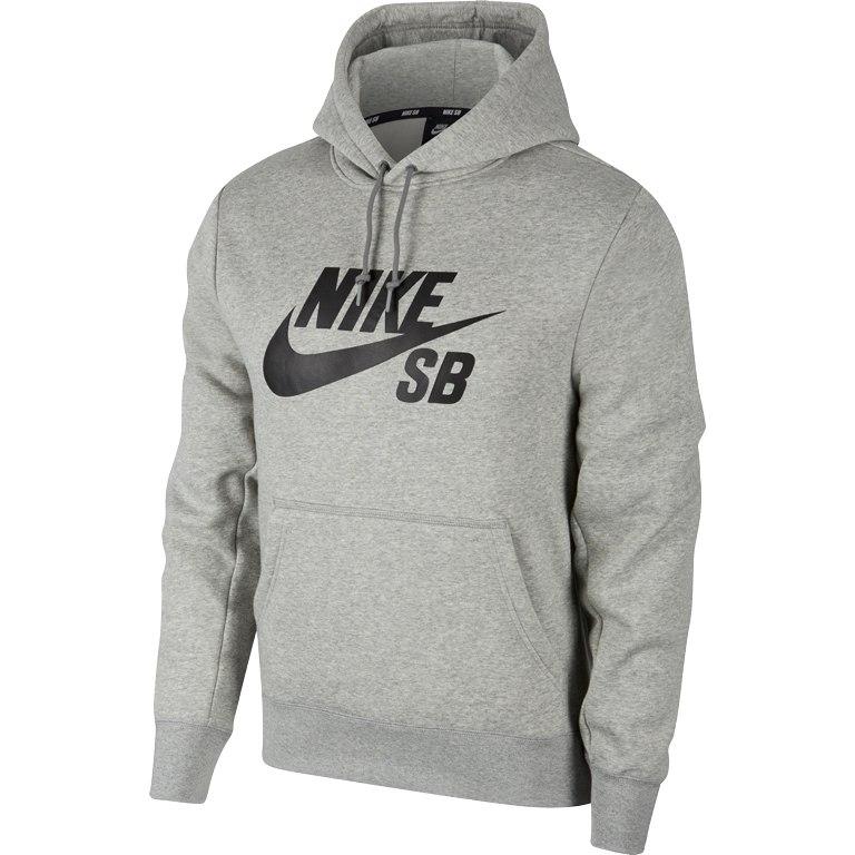 Nike SB Icon Herren Hoody in grau für 19,99€ plus 4,95€ Versand, nur noch Größe S