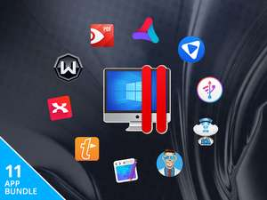 (MAC) The Limited Edition Mac Bundle incl. Parallels Desktop, Disk Drill Pro, Text Expander etc. (11 Apps)
