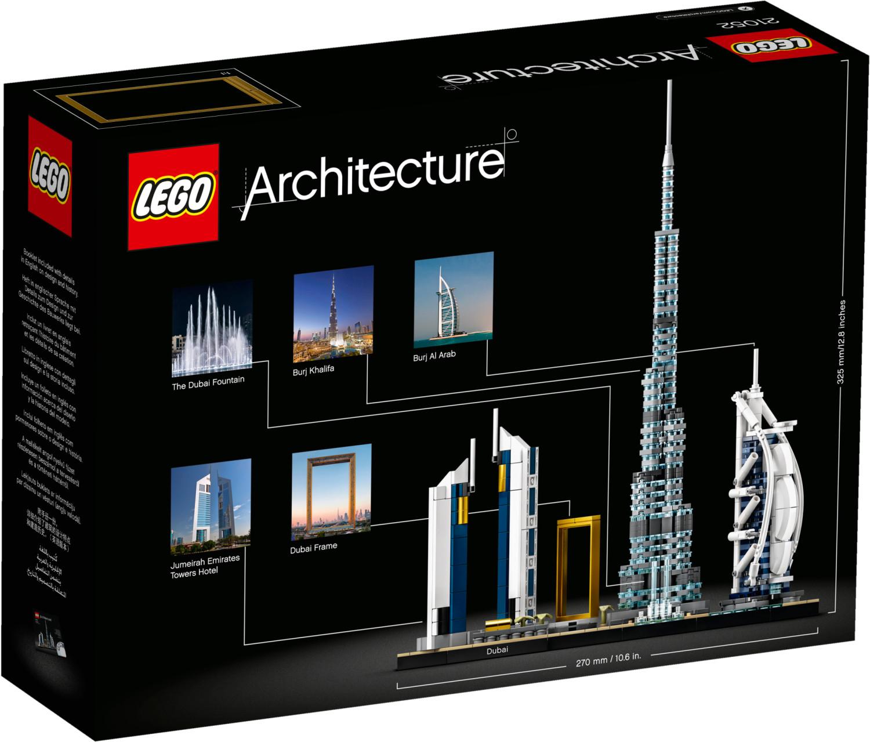 LEGO Architecture - Dubai Skyline (21052) für 35,22€ und weitere LEGO Sets (Voelkner)