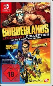 Borderlands: Legendary Collection & BioShock - The Collection (Switch) für je 35,99€ (Müller Abholung)