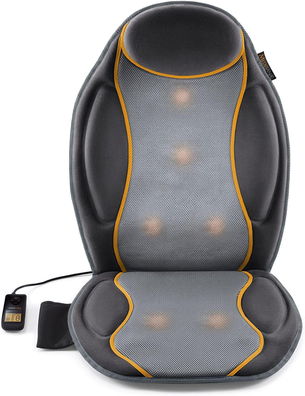Medisana MC 810 Autositzauflage, Massageauflage mit Vibrationsmassage, 9 Massageprogramme, Massagesitzauflage mit 3 Intensitäten [Amazon]