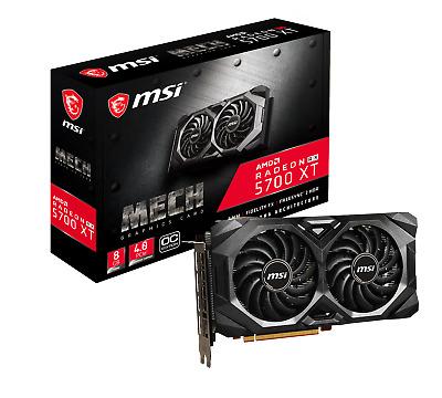 MSI Radeon RX 5700 XT Mech OC Grafikkarte - 8GB GDDR6, 3x DisplayPort, 1x HDMI