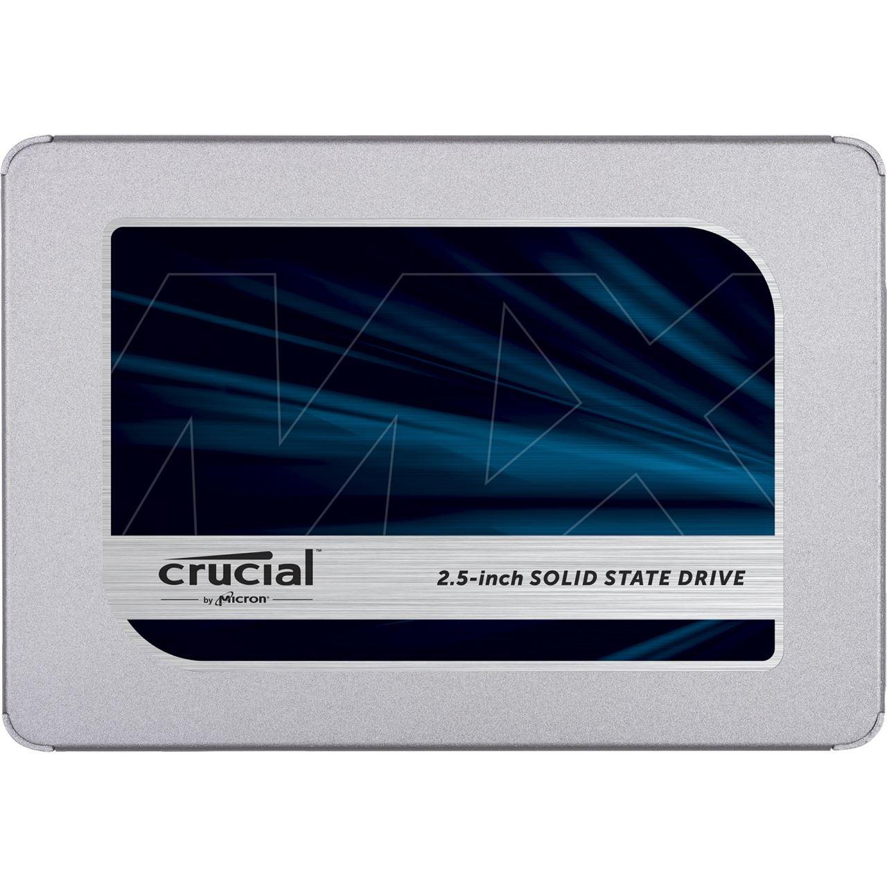 """Crucial MX500 1TB 2.5"""" SATA SSD 6Gb/s 3D-NAND TLC"""