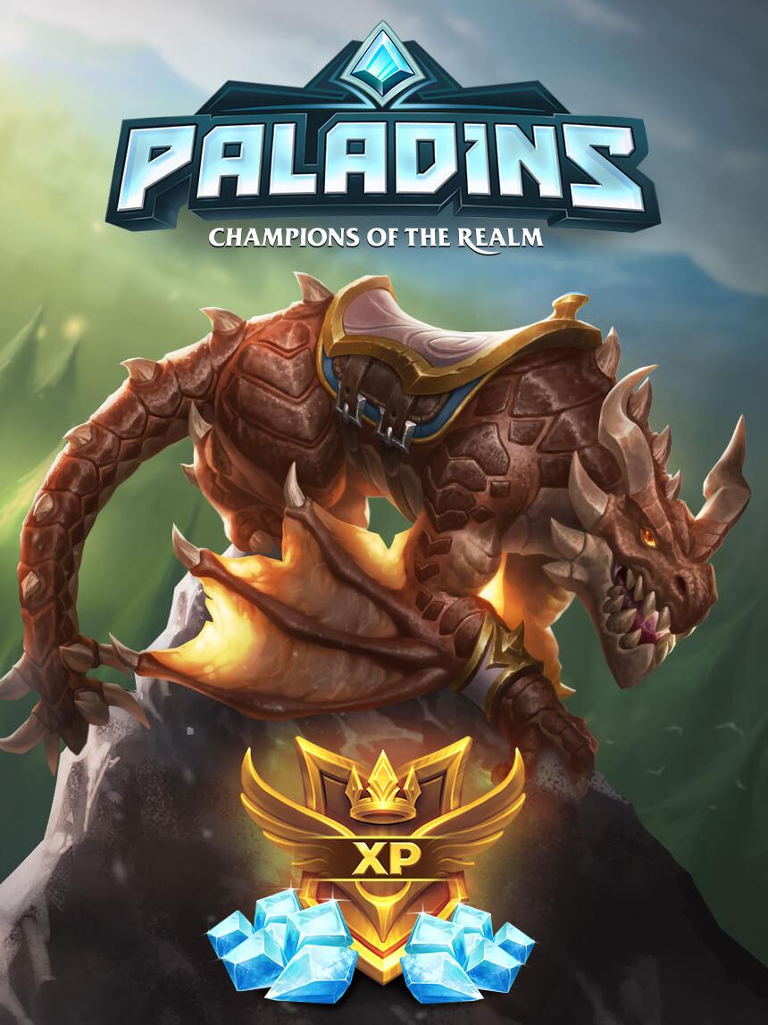 Paladins Champions of the Realm Paladins Drachenreiter-Paket