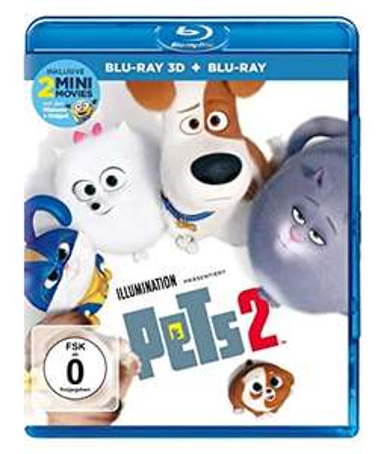 Pets 2 3D (Blu-ray 3D + Blu-ray) für 11,97€ (Amazon Prime)
