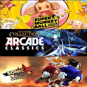 Arcade Classics Anniversary Collection,Super Monkey Ball:Banana Blitz HD & Sonic Forces (Xbox One) kostenlos spielen (Xbox Store Live Gold)